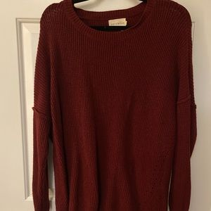 """""""Dreamers"""" Red Sweater"""